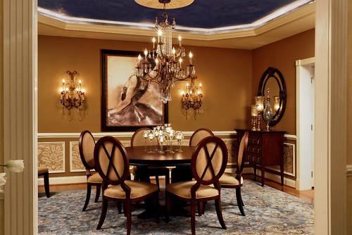 Feminine Dining Room 4 traditional dining room