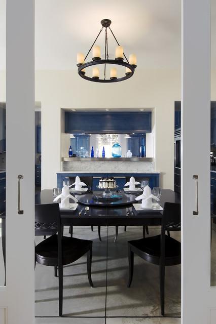 Mesa View Residence, Arroyo Grande contemporary dining room
