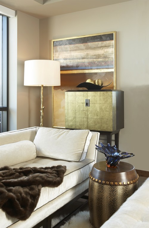 Carlyle Penthouse eclectic bedroom