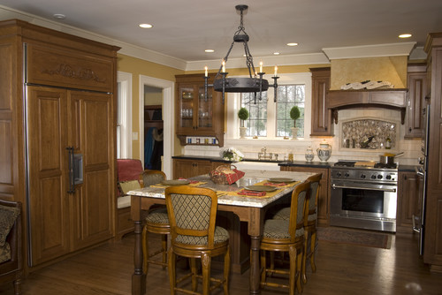 Park Boulevard traditional kitchen