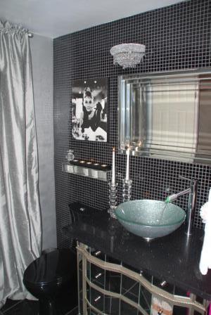 Glamorous Guest Bathroom eclectic bathroom