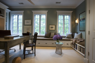 jamesthomas, LLC contemporary home office