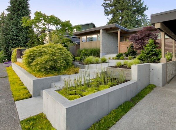 landscaping disaster post mid-century
