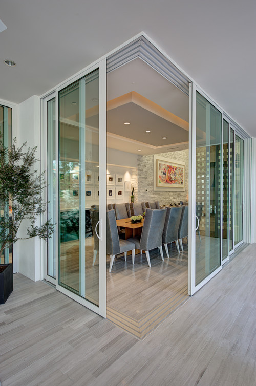 2012 New American Home contemporary dining room