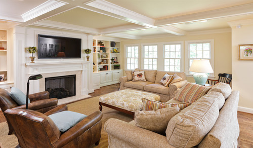 Family Room traditional family room