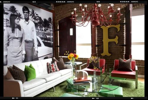 Decor Demons Loft eclectic living room