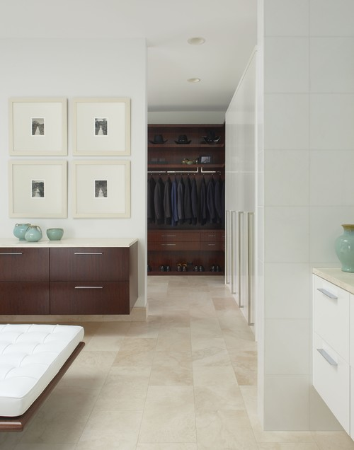 Master Closet contemporary closet timeless