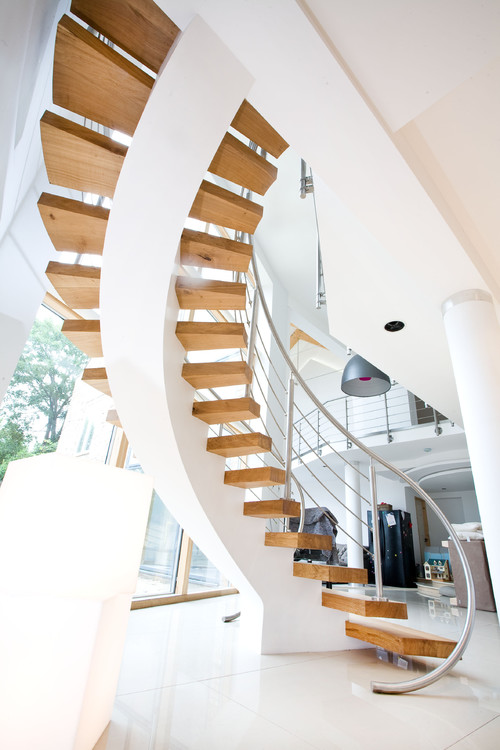 Contemporary Staircase Design By London Architect Rhoco
