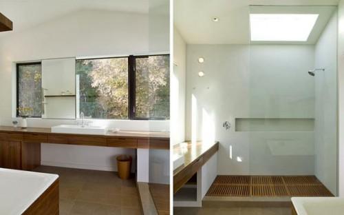 modern bathroom by Cary Bernstein Architect