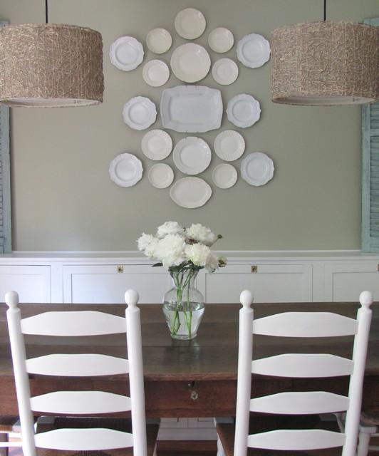 Kitchen Banquette eclectic kitchen