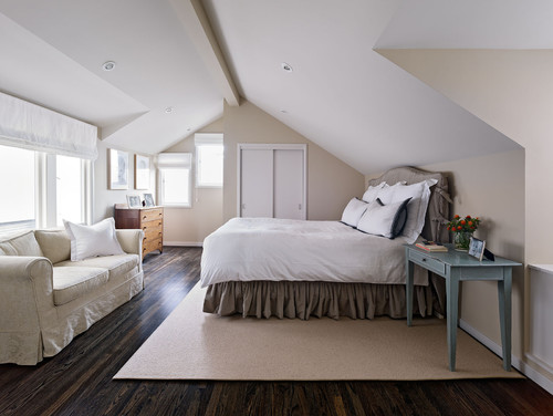 Sea Cliff contemporary bedroom