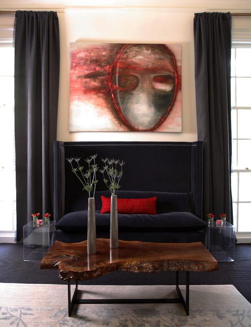 2007 ASO Decorators Showhouse & Gardens contemporary living room