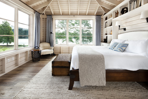 JAUREGUI Architect Interior Construction contemporary bedroom