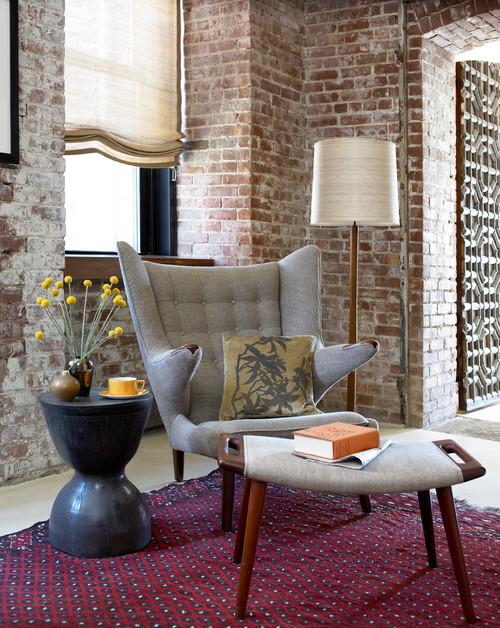 West Chelsea Loft modern living room
