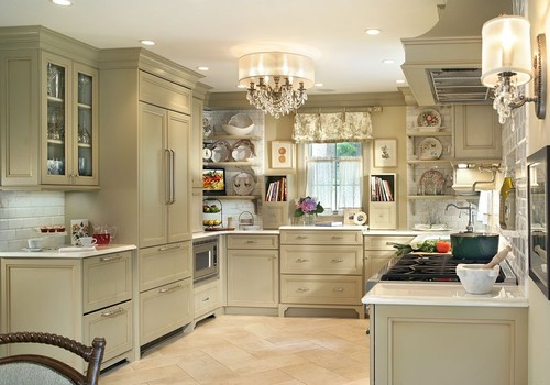 Professional photos published of Olive Green Kitchen traditional kitchen