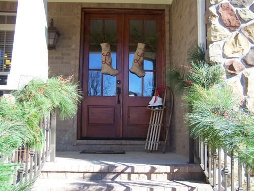 Christmas Front Door  exterior