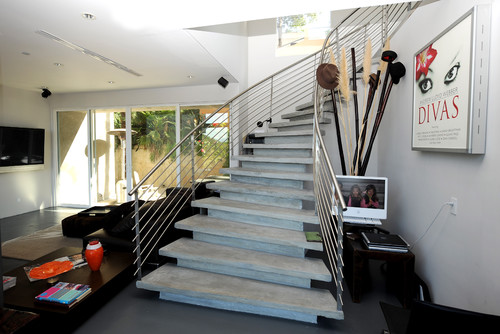 Bojanic House View modern staircase