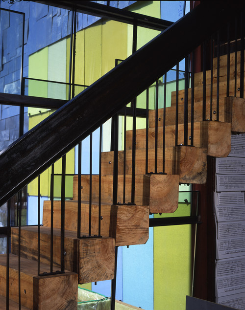 Scraphouse modern staircase