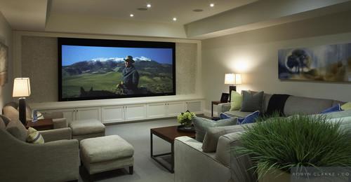 Designing a Tasteful Home Movie Room Color Calling