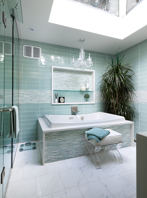 Master Ensuite Bathroom - Divine Homes contemporary bathroom
