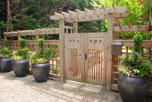 Garden Fence Ideas Images Perfect Home And Garden Design