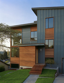 zipper house modern exterior
