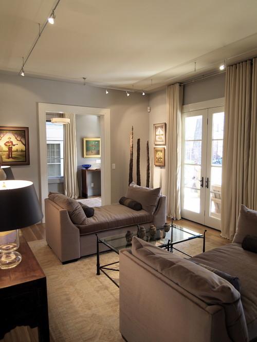 Virginia Highlands House contemporary living room