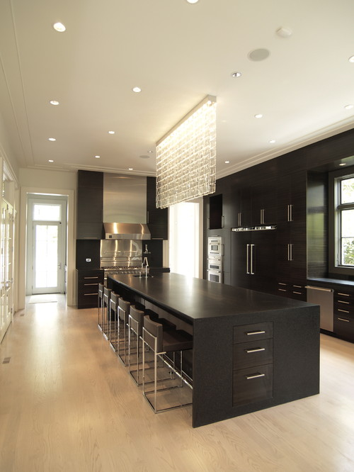 Morningside House contemporary kitchen