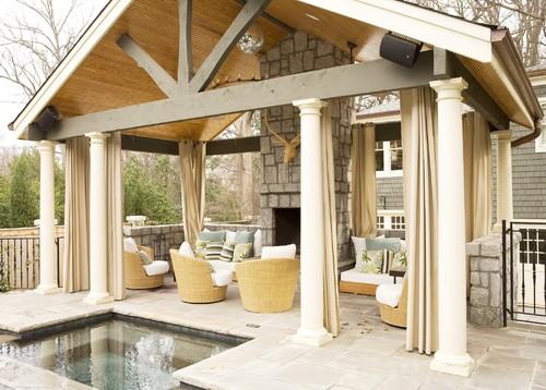 Cabana contemporary patio