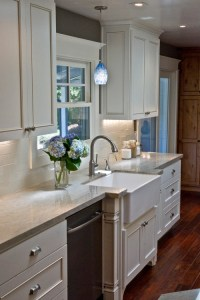make it work: kitchen sink lighting