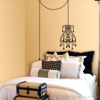 Vintage Chandelier Wall Decal - Wall Decals - san ...