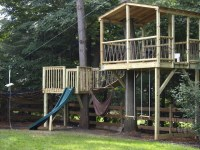 Treehouses, Ziplines and Playgrounds - Eclectic - Kids ...