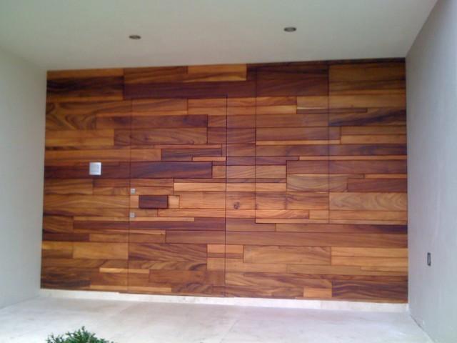 how to build wood exterior door