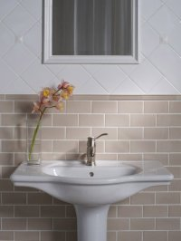 Traditional Subway Tile Bathroom Design Ideas, Pictures