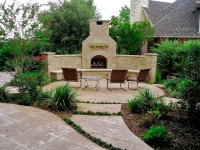 Outdoor Fireplaces - Eclectic - Patio - dallas - by Pool ...