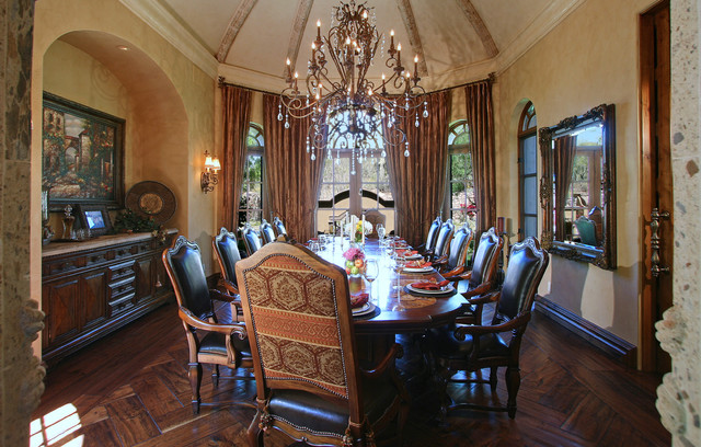 Elegant Dining Room  Mediterranean  Dining Room  other