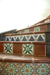 Mexican Tile - Mediterranean - Staircase - austin - by ...