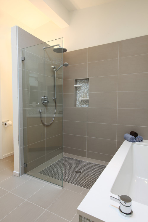 How much room is needed to accommodate a walkin shower Im trying to determine if it will fit
