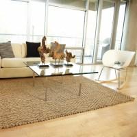 Anji Mountain Jute Rugs - Rustic - Living Room - los ...