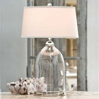 Glass and Nickel Lamp - Contemporary - Table Lamps - by ...