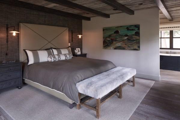 modern rustic bedroom Tahoe Modern - Rustic - Bedroom - san francisco - by