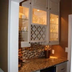 Window Treatments Ideas For Living Room Pop Ceiling Designs Small Wine Nook - Kitchen Atlanta By Kreg's Custom Carpentry