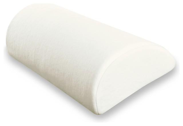 Soft 4 In 1 Memory Foam Pillow  Half Cylinder  Half Moon