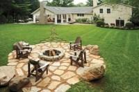 Rustic Backyard Retreat - Rustic - Landscape - columbus ...