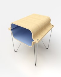 Bent Plywood - Midcentury - Side Tables And End Tables ...