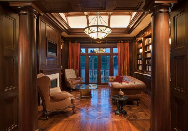 Art Deco Spectacular Mediterranean Home Office