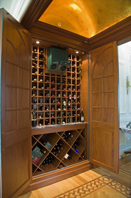 Hidden Wine Cellar Traditional Wine Cellar New York