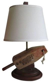 Vintage Buoy Table Lamp modern-table-lamps