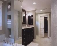 Transitional Master Bath - Contemporary - Bathroom ...
