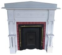 Consigned Vintage Fireplace Mantel Surround Antique Mantel ...